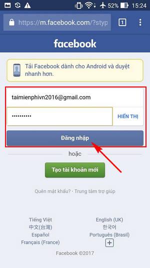 cach tai video facebook