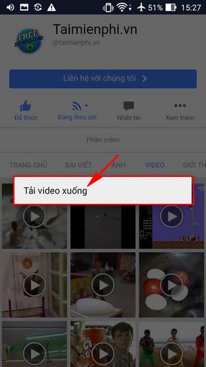 cach tai video facebook zenfone 2