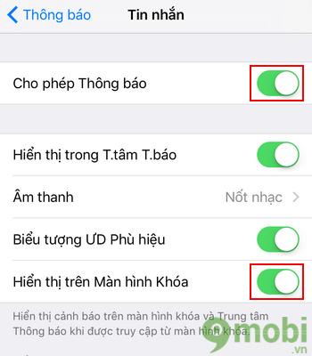 cach an tin nhan tren iphone
