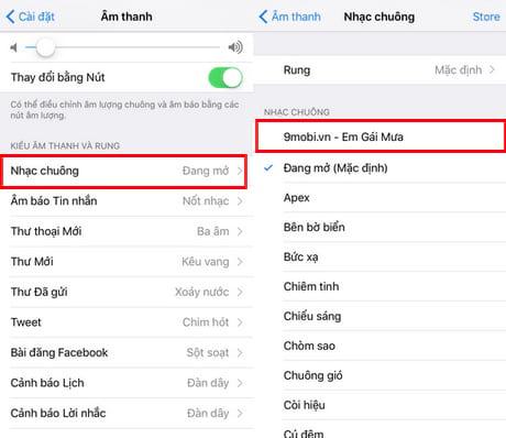 cai nhac chuong cho iphone 7