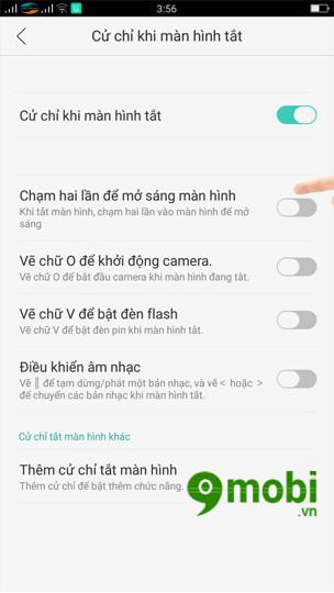 mo khoa man hinh Android