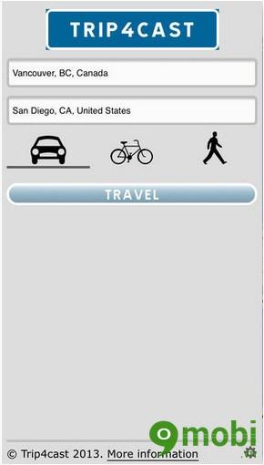 Trip4cast for iOS
