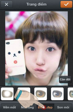 chinh mat dep bang photowonder voi iphone 6 plus, 6, ip 5s, 5, 4s, 4