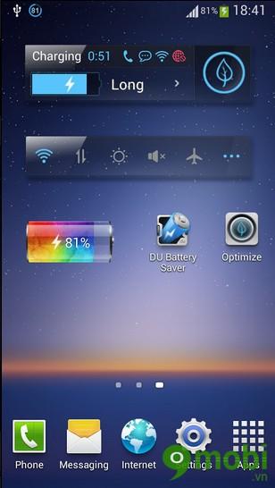 ải DU Battery Saver cho Samsung