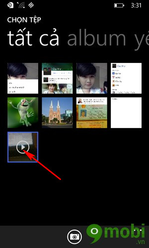 tải video lên facebook bằng Windows Phone