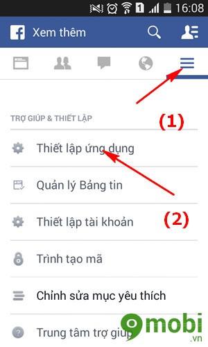 huỷ chức năng duyệt Web ngay trên Facebook