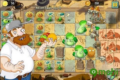 cách chơi plants vs zombies 2