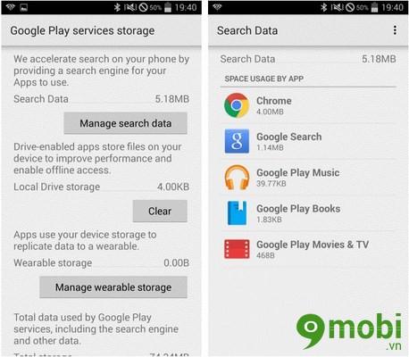 ách sử dụng Google Play Services