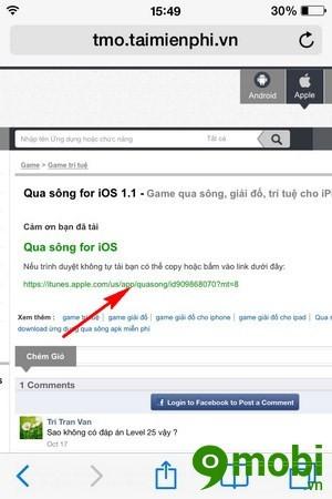 cách tải game cho iPad