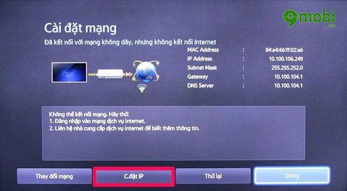 huong dan sua loi tivi khong ket noi mang internet duoc 4