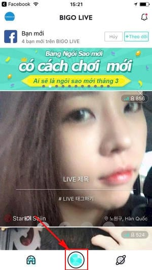 cach xem live stream phat live stream tren bigo live 8