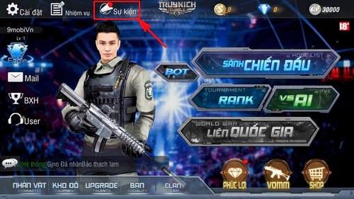 code truy kich mobile nhan gift code o dau 5