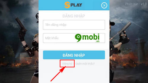 dang ky tao tai khoan truy kich mobile game ban sung mobile tren iphone  android 4