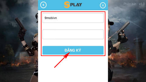 dang ky tao tai khoan truy kich mobile game ban sung mobile tren iphone android 5