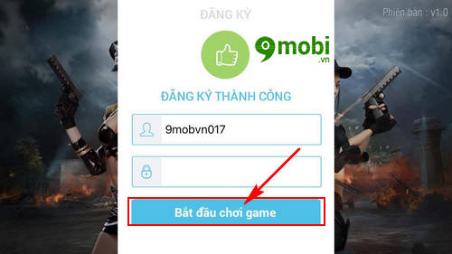 dang ky tao tai khoan truy kich mobile game ban sung mobile tren iphone android 7