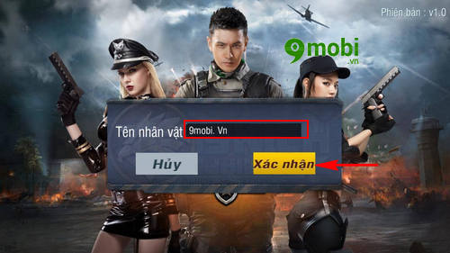 dang ky tao tai khoan truy kich mobile game ban sung mobile tren iphone android 8