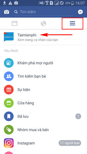 cach cai video dai dien facebook tren android 3