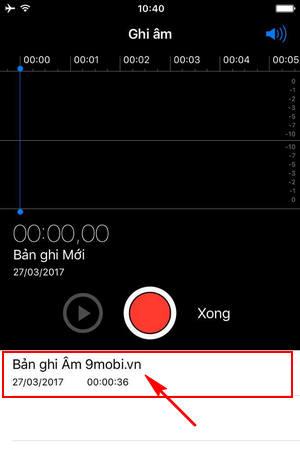cach gui file ghi am tren iphone qua facebook email tin nhan 3
