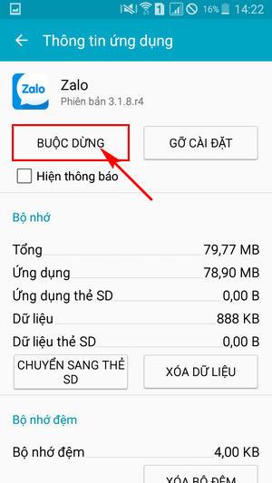 tat thong bao zalo tren samsung nhu the nao 7
