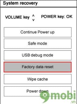 Khôi phục cài đặt gốc điện thoại LG G6