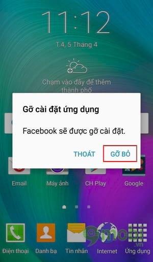 xoa del go bo facebook apps tren android va iphone 11