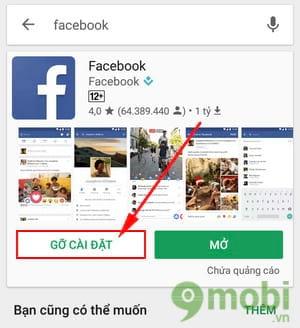 xoa del go bo facebook apps tren android va iphone 15