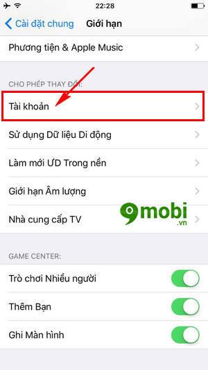 cach cai dat mat khau gioi han cua iphone giup bao mat hon 7