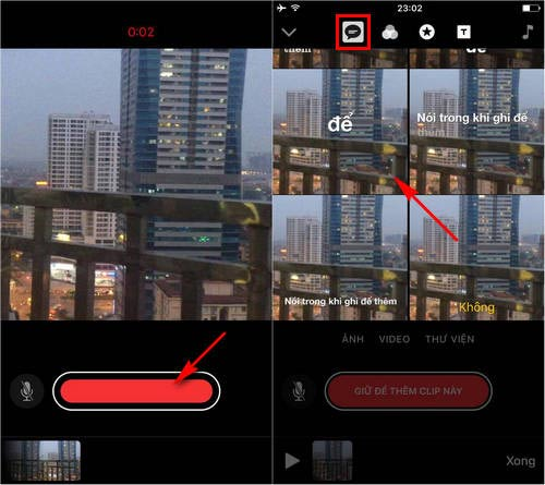 su dung ung dung chinh sua video apple clips tren iphone ipad 3