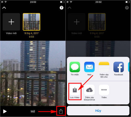 su dung ung dung chinh sua video apple clips tren iphone ipad 7