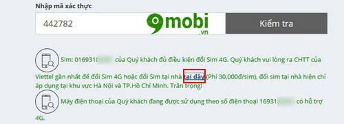 cach dang ky doi sim 4g viettel online 4