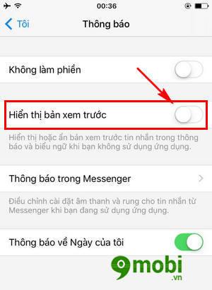 Cách xoá Đã Xem trên Facebook Messenger cho điện thoại