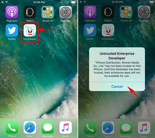 chay nhieu tai khoan whatsapp tren iphone ipad khong can jailbreak 4