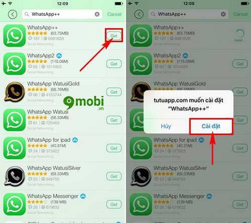 chay nhieu tai khoan whatsapp tren iphone ipad khong can jailbreak 10