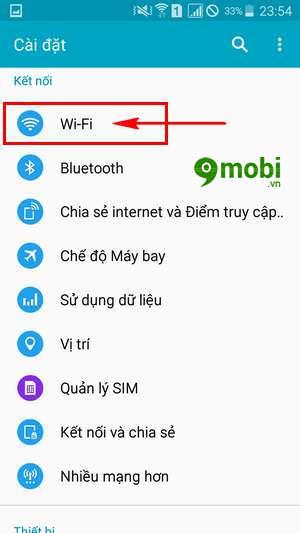 sua loi wifi yeu tren samsung note 4 8