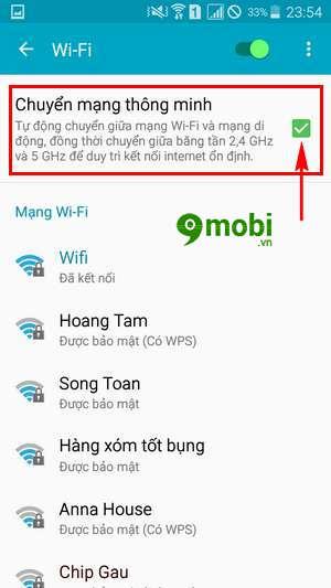 sua loi wifi yeu tren samsung note 4 9
