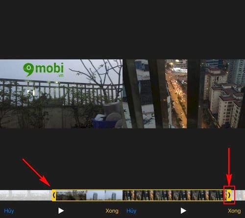 cach cat crop video tren iphone ipad 4