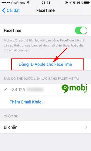 Hướng dẫn sử dụng Facetime trên iPhone và iPad, cách kích hoạt Facetim