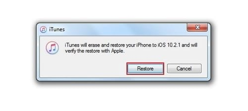 cach dua iphone ipad ve che do recovery mode de restore iphone 7