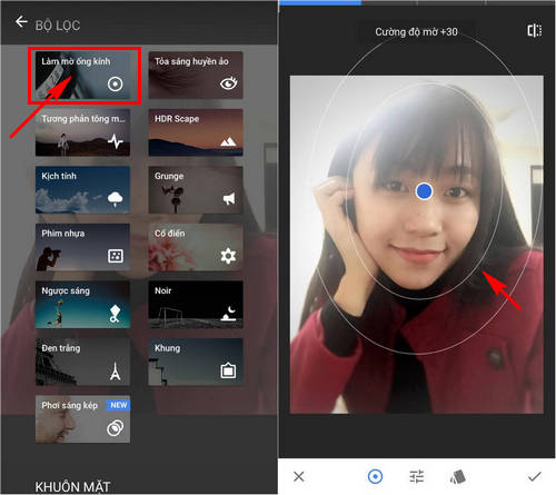 cach xoa phong anh tren dien thoai android iphone 5