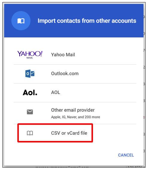 cach chuyen danh ba tu icloud sang gmail 4