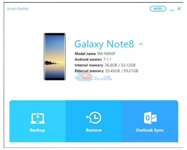 huong dan backup va restore samsung galaxy s9 s9 plus 5