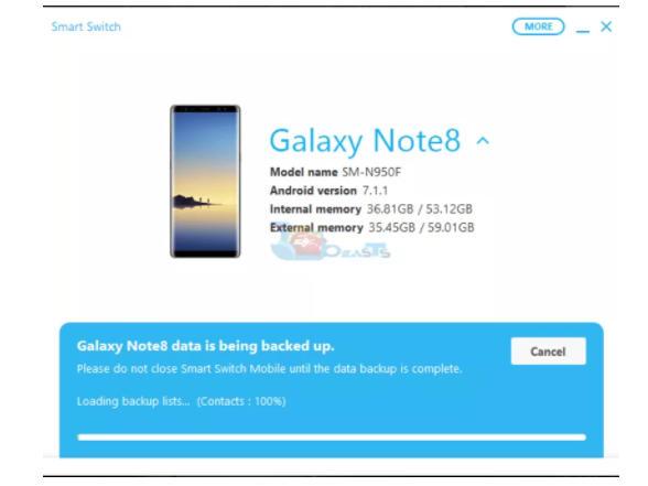 huong dan backup va restore samsung galaxy s9 s9 plus 6