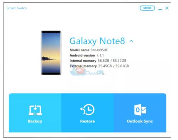 huong dan backup va restore samsung galaxy s9 s9 plus 7