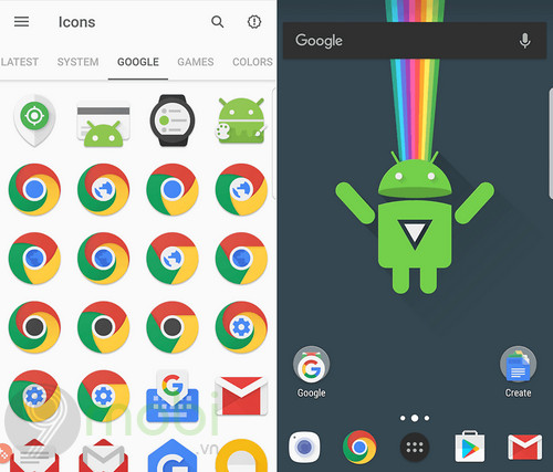 top icon pack dep nhat cho android 5