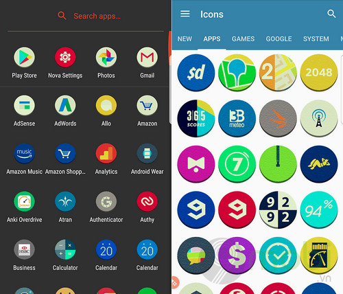 top icon pack dep nhat cho android 10