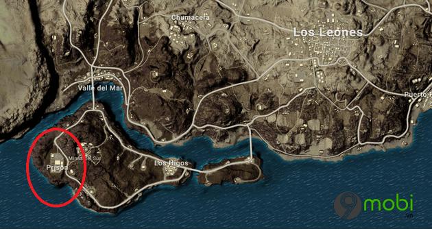 vi tri sung phao sang flare gun map miramar trong pubg mobile