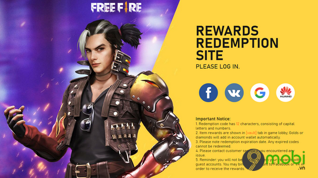 cach nhan skin trong free fire mien phi