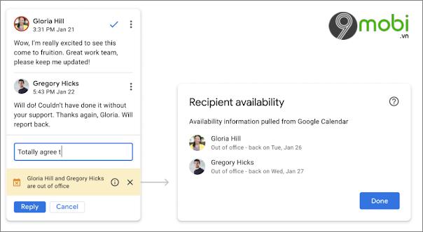 google docs them tinh nang vang mat doi tac khi khong su dung google tai lieu