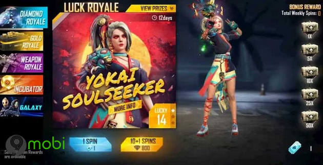 cach nhan skin free fire mien phi 2021