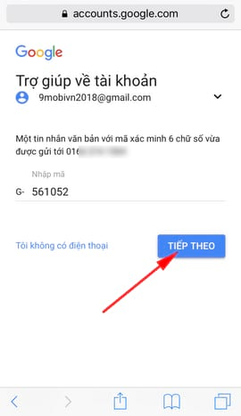 cach khoi phuc mat khau gmail tren dien thoai iphone va android 6